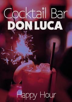 Happy Hour, jeden Tag im Don Luca.    Don Luca mexikanisches Restaurant   www.donluca.de #DonLuca #mexikanisch #Restaurant #Bar #Cocktailbar #Cantina #mexican #Mexicaner #Muenchen #Schwabing #Don #Luca #HappyHour #mexikanischesEssen