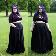 WEBSTA @ corvuscoronefashionphotography - **NEW** Amalthea skirt Circle maxi skirt with large pockets! To buy or for more information, visit our Etsy shop (clickable link in bio)