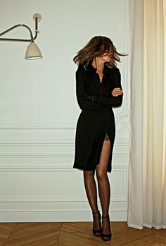 Carine Roitfeld. And more importantly: her legs