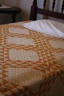 antique ocean waves quilt