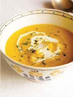 Why we love it: This warming, autumnal soup makes a filling, delish dinner. Ingredients: 9 Time: 45 Source: The Nest Get the recipe