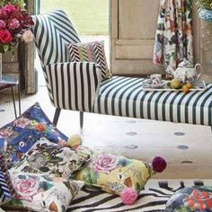 Christian Lacroix Fabric Collection. At No Chintz we can source specific designer fabrics and products. Ask in store or enquire online for pricing and product information.
