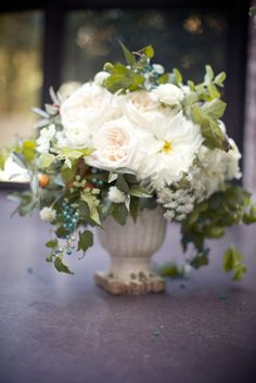 Cascading. We have these vases. Poppies & Posies.