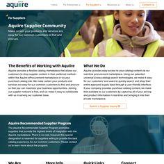 New Website Design for Aquiire