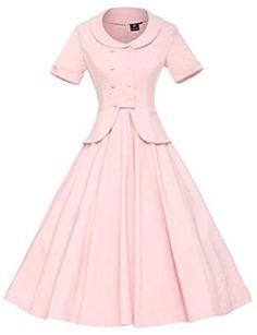 Women's Vintage 1950s Retro Rockabilly Prom Dresses