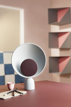PLEASE WAIT to be SEATED, Blooper Table Lamp