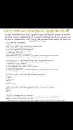 Best Headache Recipe