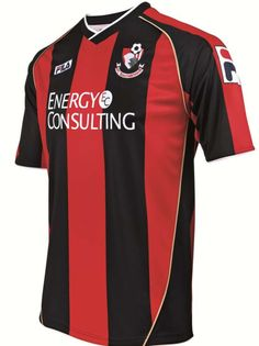 Bournemouth Home Shirts 2013-14 Championship League, Afc Bournemouth, Football Kits, Sports Shirts, Premier League, Soccer Jerseys, How To Wear, Cherries, Third