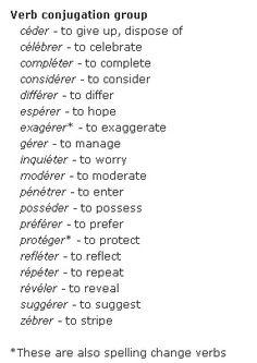 an er verb | pinterest project | Pinterest | French words
