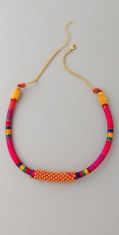 Nilgiri Necklace, color and texture