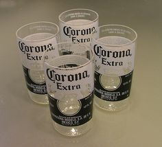 Recycled Beer Glasses