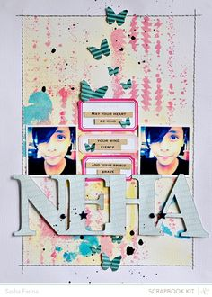 Neha *Studio Calico December Kit* by Sasha_F @2peasinabucket