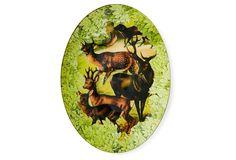 One Kings Lane - The Mountain Lodge - Woodland Deer Family