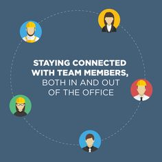 We all need to communicate with our teams better. Here are some tips to help that out. Construction Business, Team Member, The Office, Time Management, All About Time, Connection, Tips, Advice, Hacks