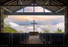 Pretty Place Chapel - Blue Ridge Mountains