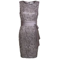 Buy Kaliko Lace Satin Dress Online at johnlewis.com
