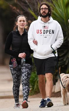 Kat Dennings & Josh Groban from The Big Picture: Today's Hot Pics  The couple take their dog for a walk in Los Angeles.