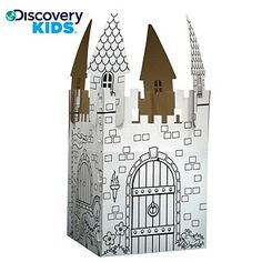 Overstock - cardboard play castle by Discovery Kids. Over six feet ...