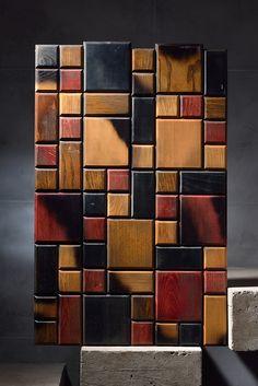 TESSELLATED СOLOR wood panels. Материалы: дуб, бук, ясень, клен. Тип покрытия: эмаль, тонирование, лак. Размеры: 720*480*22 мм. Чертежи панелей, 3D модели и удобный просчет стоимости на нашем сайте www.yourforest.com.ua