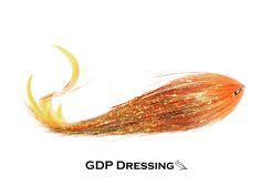 Jelly Fly  ( gold / orange )