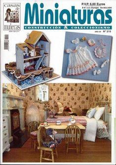 Casa De Muñecas Y Escena En Miniatura Revista-Edición 237
