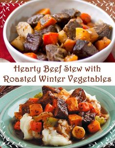 ... stew with roasted winter vegetables hearty beef stew with roasted