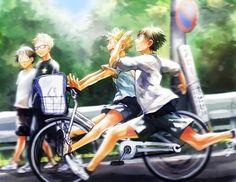 Yamaguchi Tadashi x Tsukishima Kei, Hinata Shouyou x Kageyama Tobio  jWDmEadKq0w.jpg (500×386)