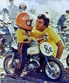 Father and Son on #motorcycle #EatSleepRIDE