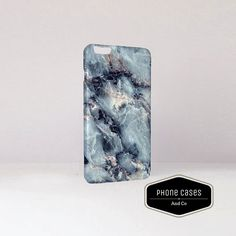 Blue Marble Phone Case. Samsung Phone Case. by PhoneCasesandCo