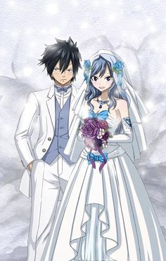 Gruvia Wedding - I don't normally repin this sorta stuff, but this one is too cute. :3