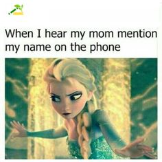 Humor - School Funny - School Funny meme - - My reaction when I hear my mom mention my name on the phone. The post Humor appeared first on Gag Dad. Funny School Jokes, Crazy Funny Memes, School Memes, Funny Relatable Memes, Wtf Funny, Funny Facts, Funny Jokes, Hilarious, Weird Facts