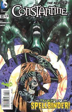Constantine # 13 DC Comics The New 52!