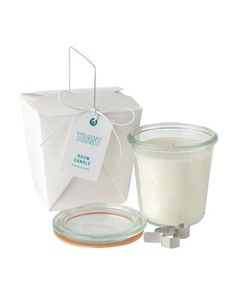 TOAST SCENTED CANDLE   Soya wax candle, lightly scented with natural essential oils. (No it doesn't smell like Toast) :-)