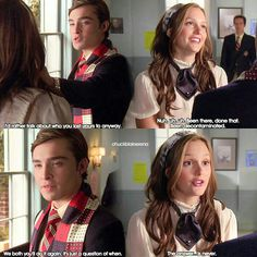 Chuck and Blair Best Tv Couples, Tv Show Couples, Cute Couples, Gossip Girl Chuck, Blair And Serena, Gossip Girl Quotes, Gossip Girl Outfits, Nate Archibald, Ed Westwick