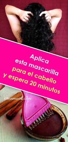 Aplica esta mascarilla para el cabello y espera 20 minutos. ¡Los efectos te encantarán! Hair Care Tips, Gym Workouts, Shampoo, Health Fitness, Hair Beauty, Healthy, Style, Hair, Frases