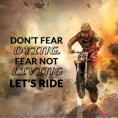Let's Ride Bike Quotes, Do Not Fear, Let It Be, Movie Posters, Movies, Films, Film Poster, Cinema, Movie
