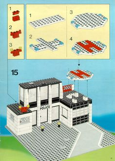 Police - Police Command Base [Lego 6386]