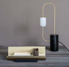 Table lamp, desk lamp, contemporary lighting, luxury light, sculptural lamp, dan yeffet, collection particulière, craftsmanship, french design
