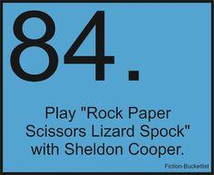Fiction Bucketlist Big Bang Theory