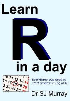 Learn R in a Day $3.99 #topseller