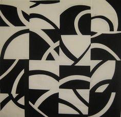 Annette R. Guerrero: Black and White Curvilinear