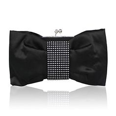 Also comes in white . . . .Gorgeous Silk Evening Handbags/ Clutches More Colors Available – USD $ 29.99