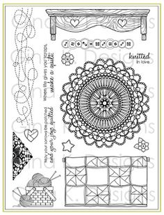 Nana's Needlework by Nina Brackett