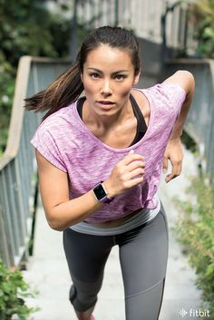 Chase your goals with Connected GPS, multi-sport modes, continuous heart rate and music control on Fitbit Blaze.