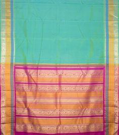 Kanakavalli Handwoven Kanjivaram Silk Sari 1001136 - Sari / Silk Saris - Parisera