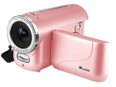 pink video camera
