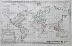 Antique-Map-World-Map-Mappe-Monde