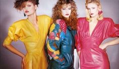 Vintage Fashion 80s http://www.sorellevintage.com/blog/abbigliamento-vintage-gli-anni-80-tra-rock-fashion-roll/