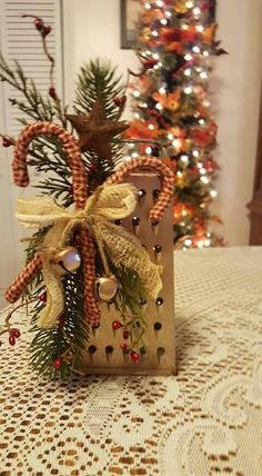 Grater - Grater - Ideas of Grater Christmas Crafts For Kids, Christmas Home, Christmas Wreaths, Christmas Decorations, Christmas Ornaments, Christmas Ideas, Primitive Crafts, Primitive Christmas, Country Christmas