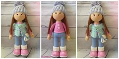 All little girls love little dolls, especially if they are cute and adorable. Do you have a child who wants a cute little doll ? Even if you don't you can still make this Crochet Molly Doll for someone you know, and then you can give it to them for their birthday or something like that.